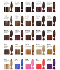 350 Hair Color Chart Tony Of Beverly Additions Fringe