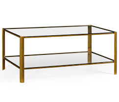 glass coffee table. Brass \u0026 Glass Coffee Table