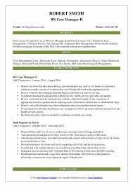 Oasis Charting For Home Health Rn Case Manager Resume Samples Qwikresume