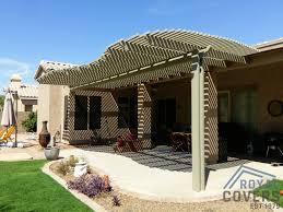 Brown aluminum patio covers Alumawood Gable Patio Alumawood Lattice Patio Covers Rated Alumawood Patio Covers Phoenix Arizona Has To Offer View