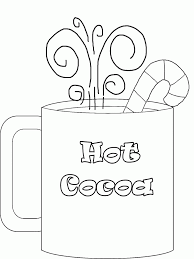 Small Picture Hot Chocolate Coloring Page diaetme