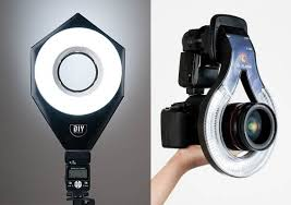 diy lighting kit. similar accessories for dslrs the diy ring flash kit by lighting kits left and oflash f189 right diy