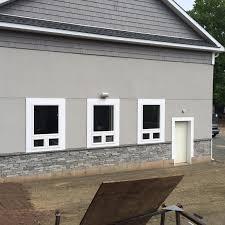 Stone Foundation Stucco Exterior Walls Fn Masonry