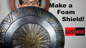 How to Make a Domed Foam <b>Shield</b>. DIY Wonder Woman/ <b>Captain</b> ...
