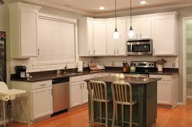 Kitchen Cabinets: Lovely Painting Cabinets White Painting Kitchen Regarding  Elegant Best Brand Of Paint For