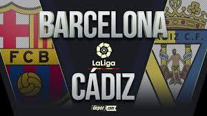 VER DIRECTV, Barcelona vs Cádiz EN VIVO: seguir transmisión EN DIRECTO  ONLINE del partido por la fecha 24 de LaLiga Santander 2021 | Canales vía  DirecTV Sports, Movistar, Apurogol y TUDN desde
