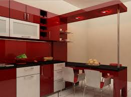 model desain kitchen set minimalis modern contoh design