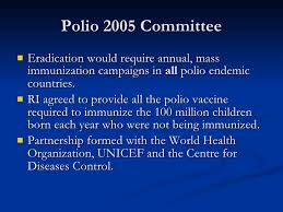 Image result for polio 2005 images