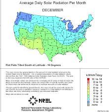 Solar Noon Chart Us Solar Insolation Maps Northern Arizona Wind Sun