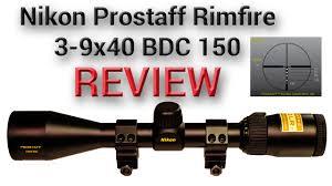 Review Nikon Prostaff Rimfire 3 9x40 Bdc 150