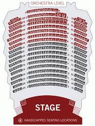 Georgia Ensemble Theatre Seating Diagram