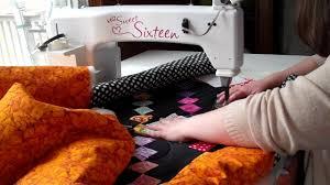 How I Manage a Larger Quilt on a Sit-Down Longarm - YouTube &  Adamdwight.com