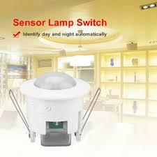 Details Zu 360 Infrarot Bewegungssensor Deckeneinbau Licht Decke Schalter Einbau 50hz60hz
