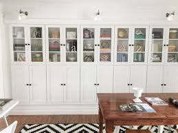 office wall cabinets with doors. 11 ikea makeovers that look shockingly luxe. ikea makeoversolid doorsikea cabinetsoffice wall office cabinets with doors e