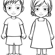 Small Picture Neoteric Design Inspiration Girl And Boy Coloring Pages 20 Outline
