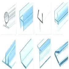 glass shower door bottom seal home depot image of sliding doors