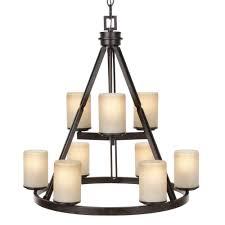 image dark ridge bronze hampton bay chandelier