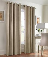 insulated total blackout single panel curtain navar thermaplus solid color 54 wide