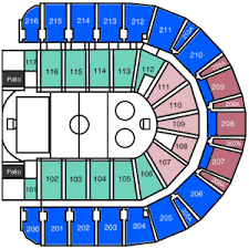 Taxslayer Center Moline Il Seating Chart Taxslayer Center End Stage Concert
