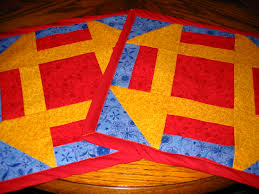 hole in the barn door quilt block finished