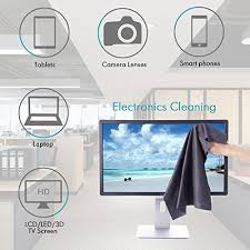 Microfiber Cleaning Cloths Cleaner For HDTV, Screen, Computers, Tablets,  Laptops, Telescope, LCD TV Fire Screens, Car, Camera Lens, Eyeglasses,Cell  Phones, ...
