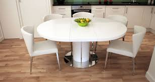 Table Gorgeous Gloss White Dining Table Ikea Laudable White
