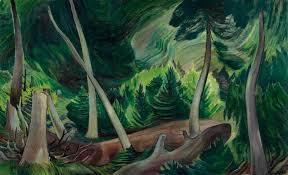 emily carr forest painting
