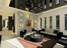 Modern Contemporary Living Room High Living In A Room With Stylish Contemporary Interior Design