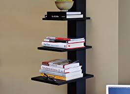 Full Size of Shelving:intriguing Floating Shelves In Black Thrilling Black  Gloss Floating Corner Shelves ...