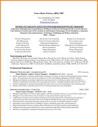 5 Best Project Manager Resume Resumes For Project Managers Resume
