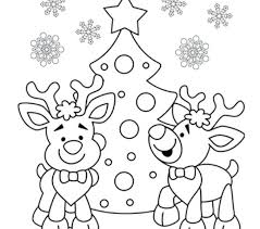Christmas Coloring Printable Pages