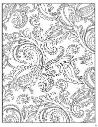 Small Picture Paisley Coloring Page 85 Paisley Pinterest Paisley design