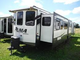 2016 Puma 39BHT 2 bedroom Park Model Trailer Camp Out RV in