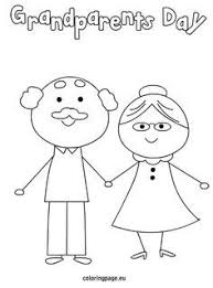 Grandparents Day Coloring Page Grandparents Day Pinte