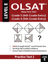 olsat practice test grade 5 6th grade entry grade 4 5th grade entry test one olsat e practice test practice test two gifted and talented 6th