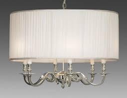 drum light chandelier. Brass And Drum Style Fabric Shade Six Light Chandelier LCFI-64B P