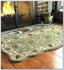 fireplace rugs fireproof home depot