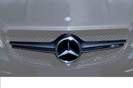 Карбоновая <b>решетка радиатора</b> 63 AMG Brabus <b>Style</b> для ...