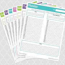 17 Best Images About Planners On Pinterest Free Printable