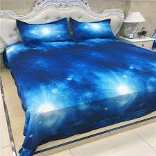 xk 013 royal blue galaxy bed set kids single bedding double duvet cover set in bedding sets from home garden on aliexpress com alibaba group