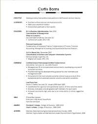Resume Templates For College Students With No Work Experience Fascinating Sample Resume For Summer Job College Student With No Experience