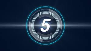 Futuristic Countdown Timer Free Motion Graphics