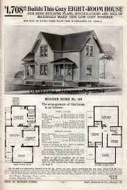 1910 Houses Design Two Sears Modern Homes Model 101 Built In 1908 Oklahoma