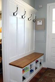 Storage Bench Seat With Coat Rack Entryway Storage Bench With Coat Rack Amarillobrewingco 87