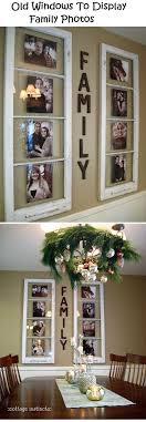 Old Windows To Display Family Photos @Christina Childress Childress  Childress Childress Wiltjer does Tim have