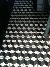 geometric mosaic tile idea