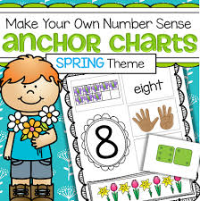 Making 10 Anchor Chart Spring Numbers 1 10 Make Your Own Anchor Charts