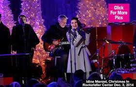 Idina Menzel Resume - idina menzel s christmas tree lighting coat gorgeous  in
