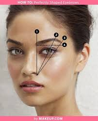 filled in and nicely shaped brows were also important in the fifties makeup routine if you don t know how to pluck shape your brows the link on the
