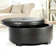 circular storage ottoman round storage ottoman coffee table round leather storage ottoman coffee table furniture with